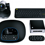 Logitech GROUP Kit with NUC